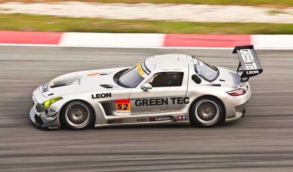 Mercedes SLS @SuperGT 2012