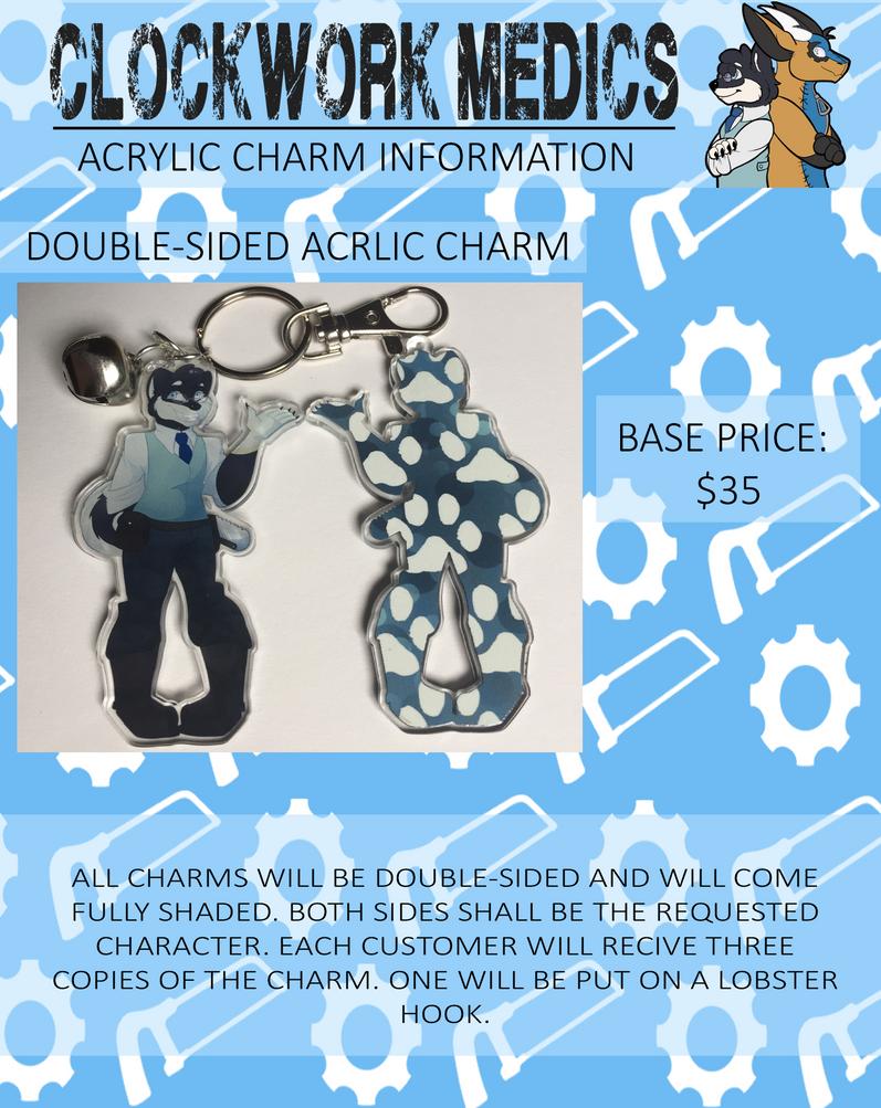 Clockwork Medics: Custom Acrylic Keychains by DragonTamer411 on
