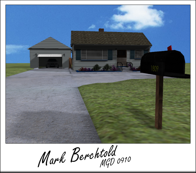 My House 3d Maya Project By Theberch On Deviantart