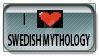 Swedish mythology love stamp by StephaniaArts