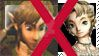 I dislike illia  x link stamp by StephaniaArts