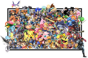 Super Smash Bros Ultimate by Ilanos44