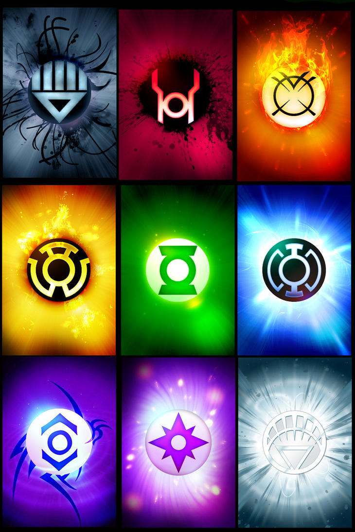 Lantern Corps T-Shirt Design by kindlight