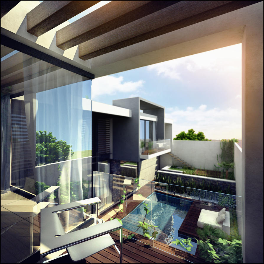 RESIDENCIA INTIMA ext 4 by ARCHIEXELENT