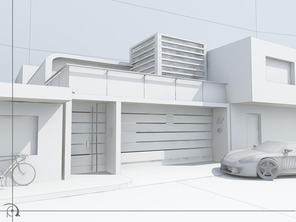CASA T2 render test by ARCHIEXELENT