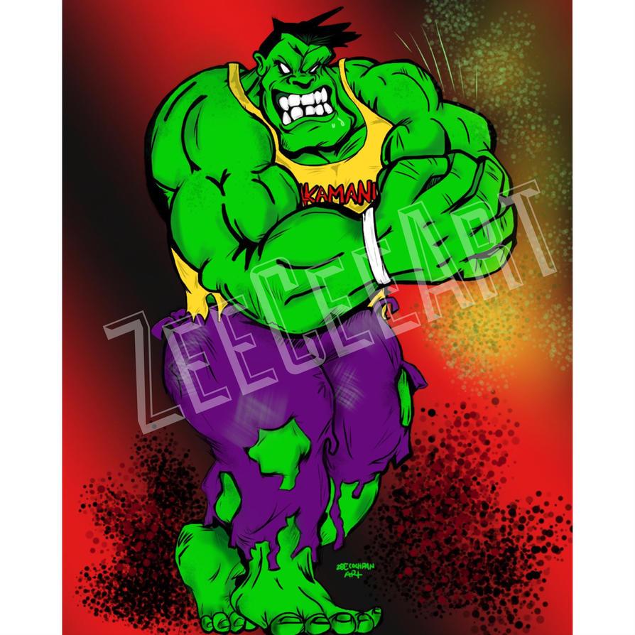 HulksAmaniac by zizcocomics