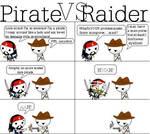 Pirate vs Raider
