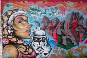 Graffiti twileek girl