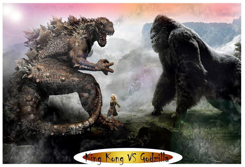 King Kong vs Godzilla Épicas Batallas de Rap del Frikismo  Keyblade