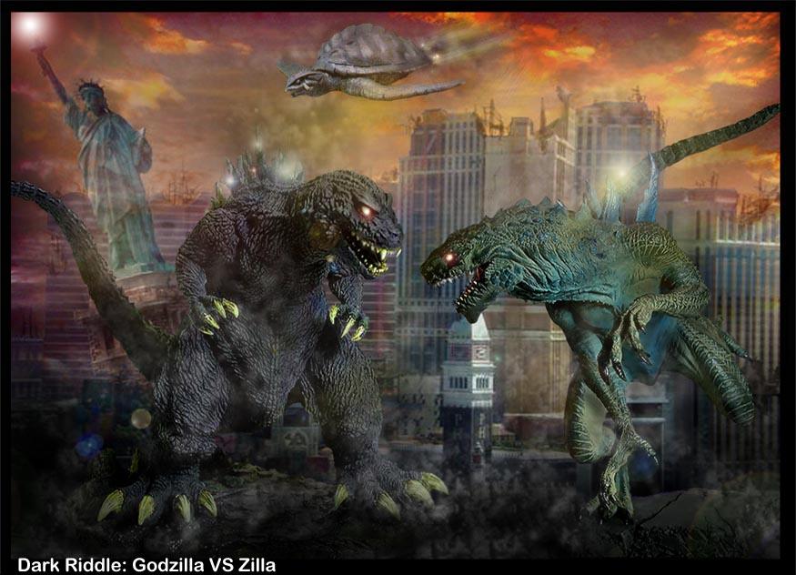 Zilla Vs Godzilla godzilla vs zilla by d...