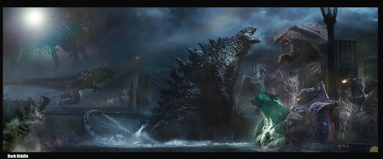 Godzilla King of Monsters by darkriddle1