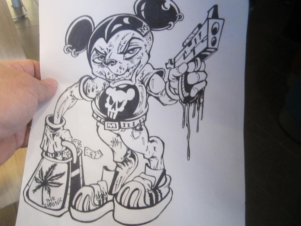 Gangster Mickey Mouse by darkriddle1 on DeviantArt