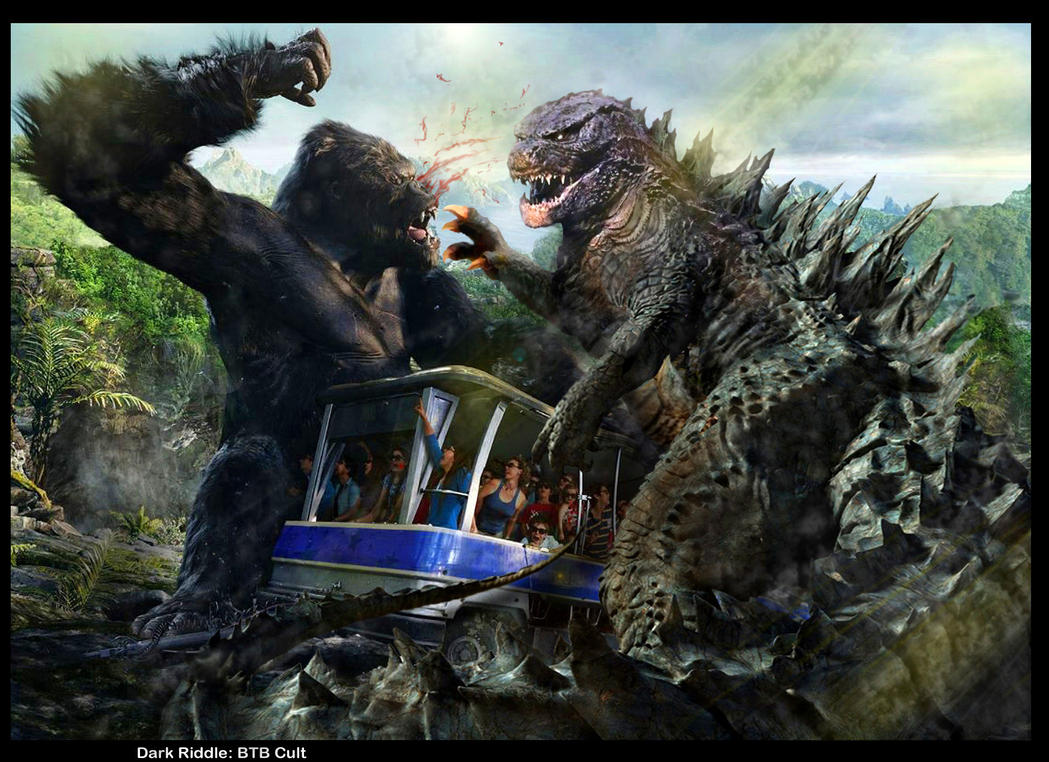 godzilla vs king kong movie by darkriddle1 on deviantart