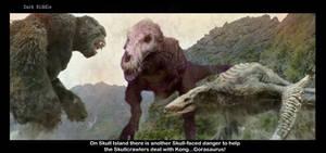 Gorasaurus V-Rex and SkullCrawler VS Kong