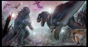 Godzillasaurus VS Vrex on Skull Island