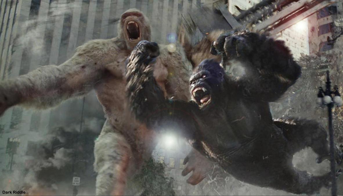 Rampage George King Kong Skull Island American Monster