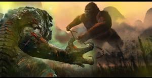Kong vs the Rancor