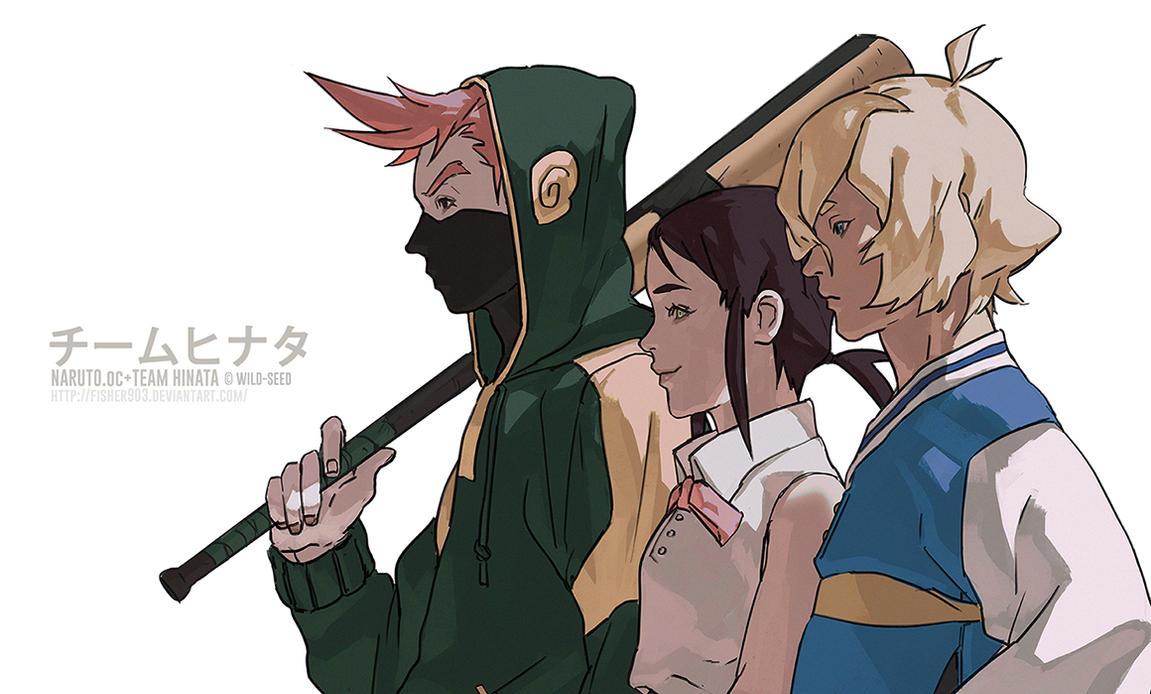 Cm Naruto Oc Team Hinata By Fisher903 On Deviantart