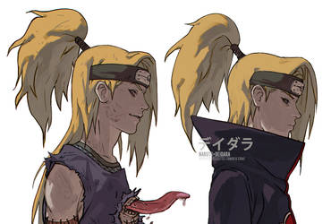 NARUTO- Deidara by fisher903