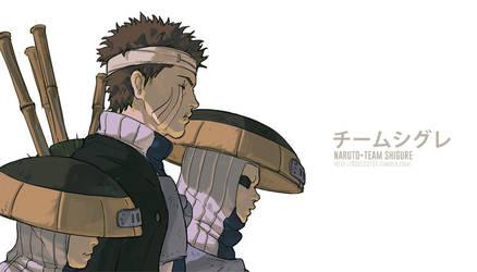 NARUTO- Team Shigure by fisher903