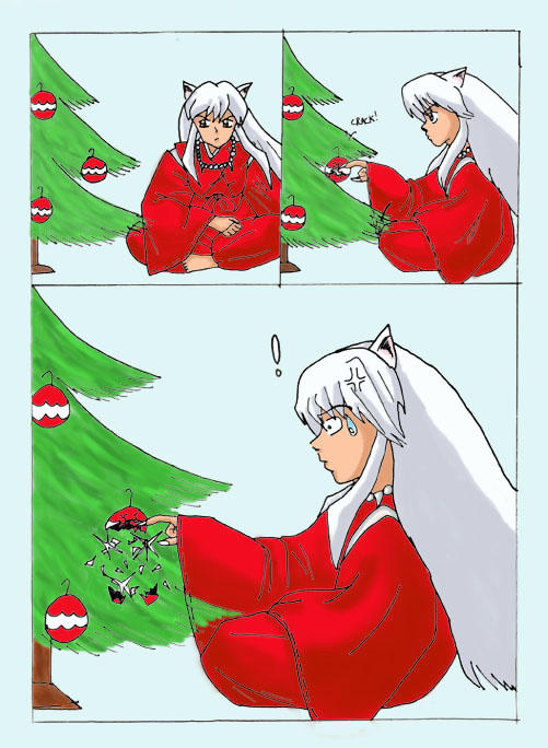 Merry Christmas from Inuyasha by miss-ducky on DeviantArt
