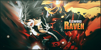Elsword: Raven Signature by iDeaThCroSs