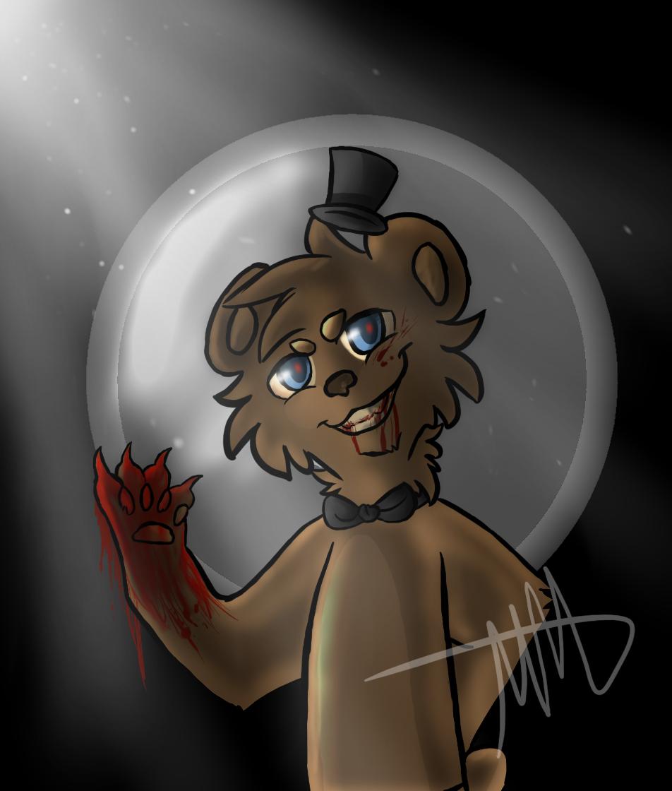 Freddy faz bear halloween costume butik work