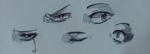Sketchin eyes