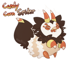 Candy Corn Spider - Poison Paca Auction! (Closed!)