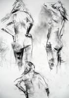 Figure Drawing Woman by danielkl29