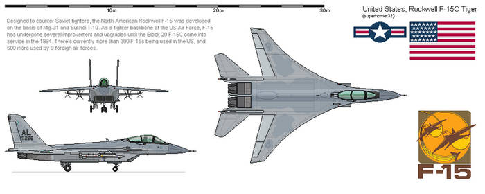 North American Rockwell F-15C Tiger
