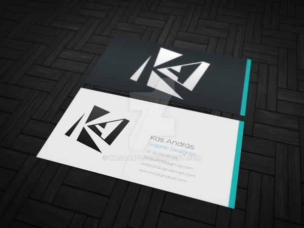 Kas Andras Business card Mock-Up v1 by kasbandi