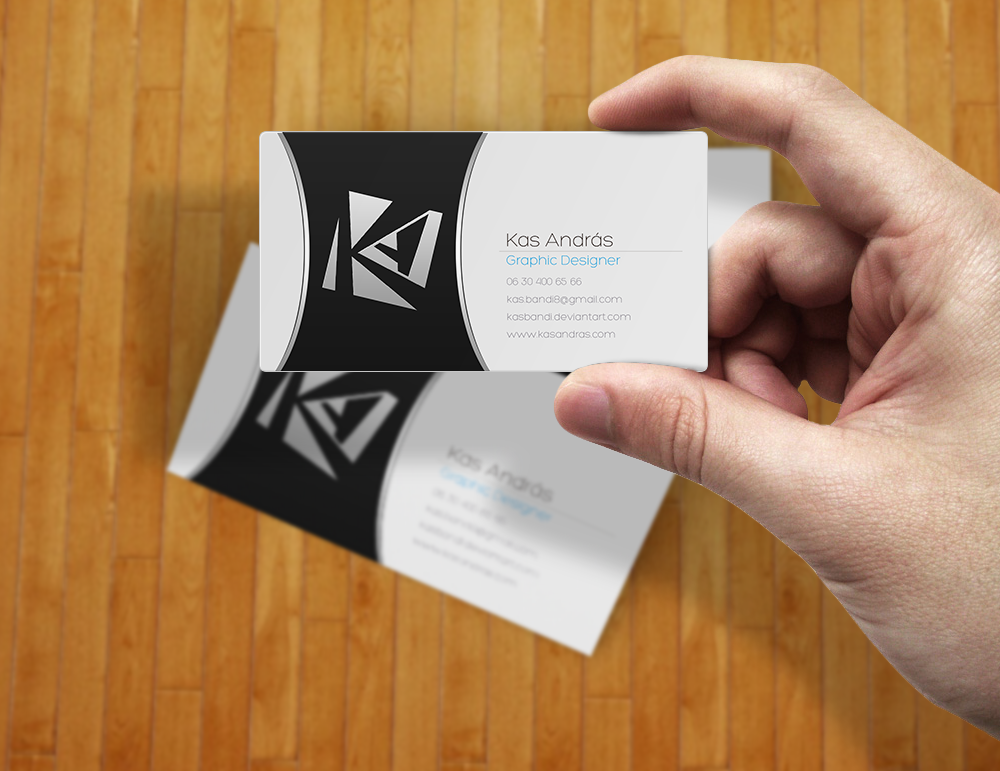 Kas Andras Business card v3 by kasbandi