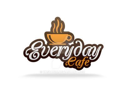 Everyday Cafe Logo by kasbandi