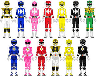 Power Rangers anyone? by Toshi-san