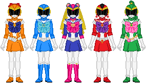 Sailor Rangers by Toshi-san