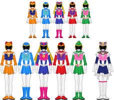 Bishoujo Sentai Sailor Girls by Toshi-san