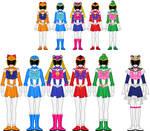 Bishoujo Sentai Sailor Girls