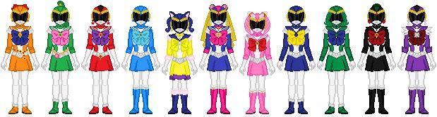Bishoujo Sentai Sailor Girls (full team)