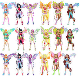 Magic Winx Believix Sophix Lovix by Toshi-san
