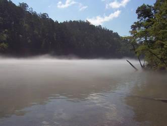 Foggy Water by teknik