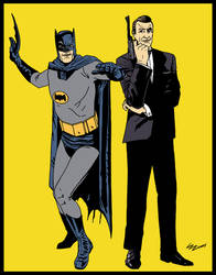Luis Maximus Batman and James Bond color2 by luisbatman