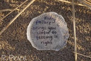 Failure Is A Step Closer To Success by Rhiallom