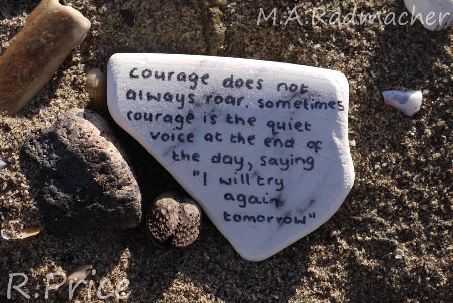 The Quiet Voice Of Courage