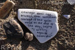 The Quiet Voice Of Courage by Rhiallom