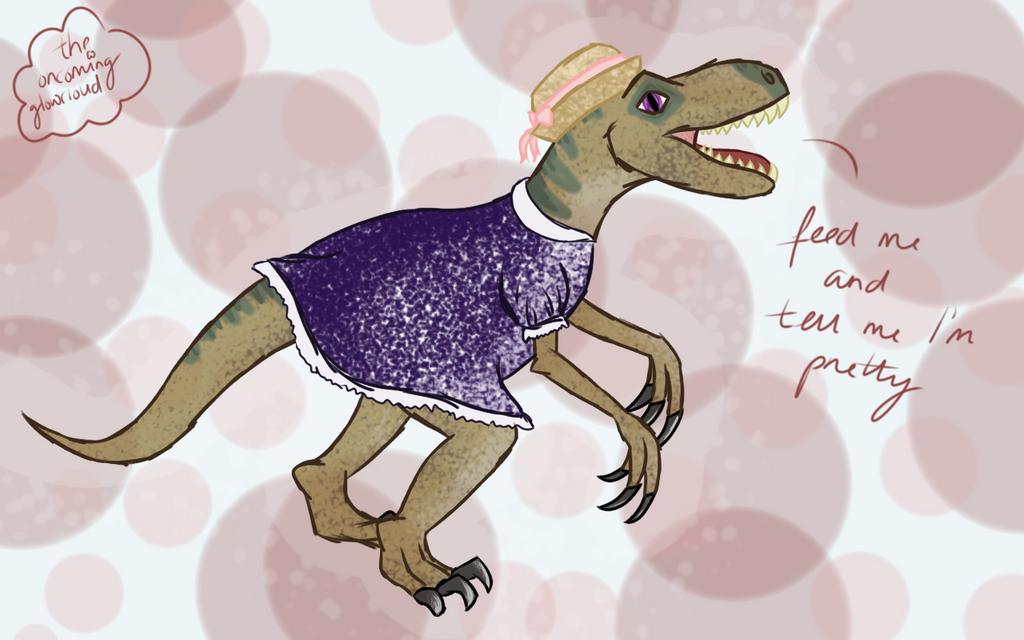 Raptors Got Needs Too by Rhiallom