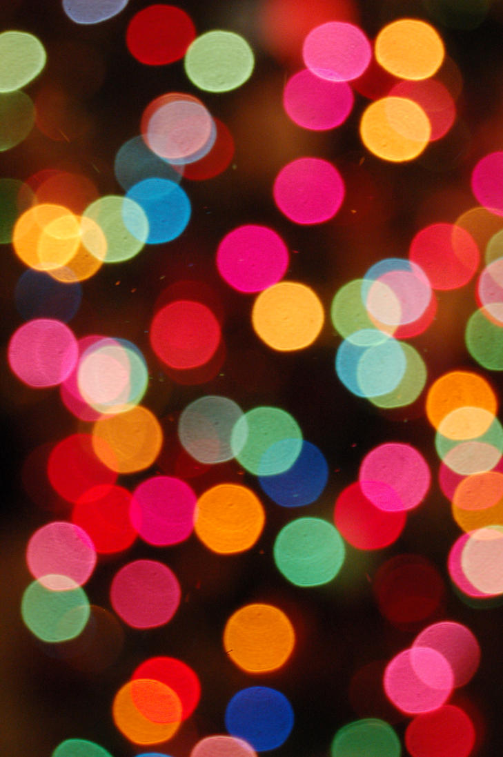 Christmas Tree Lights Ring Multi Color