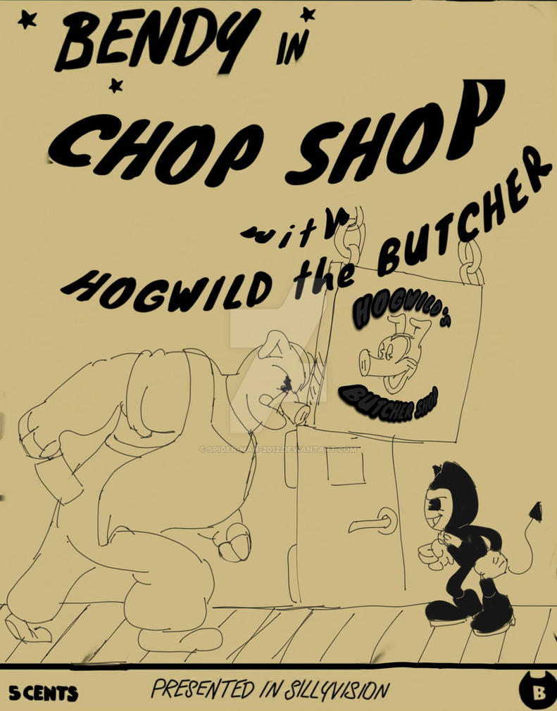 Chop Shop: ft. Hogwild the Butcher! by spider-man-2012