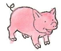Pig by brazilianferalcat