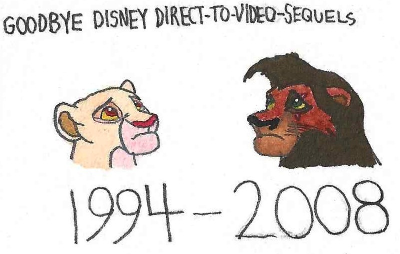 Disney sequels suck
